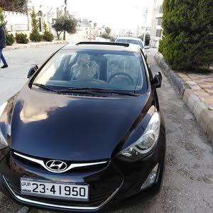 Hyundai Elantra 2013 For sale - Black color