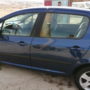 Peugeot 307 2003 For sale - Blue color