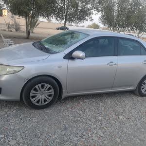 Grey Toyota Corolla 2008 for sale