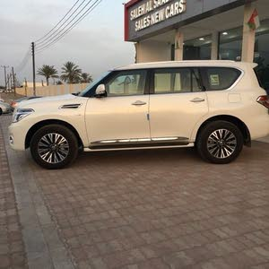 New condition Nissan Patrol 2018 with 0 km mileage