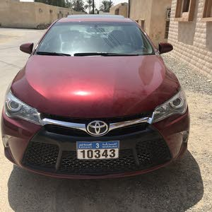 Toyota Camry car for sale 2017 in Ja'alan Bani Bu Ali city