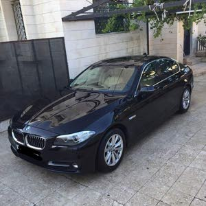 BMW 520 car for sale 2015 in Amman city