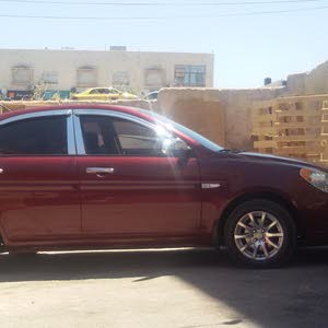 Manual Red Hyundai 2007 for sale