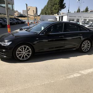 Audi A6 car for sale 2018 in Amman city