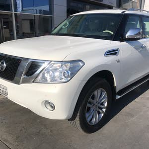 Nissan Patrol car is available for sale, the car is in  condition