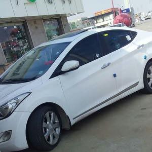 White Hyundai Elantra 2014 for sale