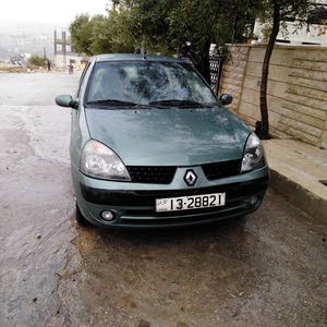 Green Renault Clio 2005 for sale