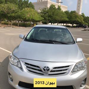 للبيع كورولا 2013 وكالة عمان نظيييف جدا قوة المحرك 1.8
