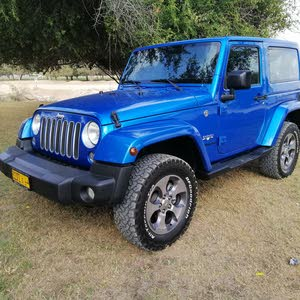 Jeep Wrangler car for sale 2016 in Muscat city
