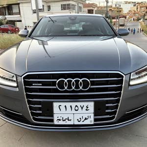 Audi A8 Twin Turbo V8 2014