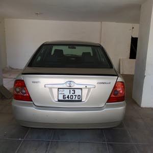 تويوتا كورولا 2006 بحالة جيدة للبيع .