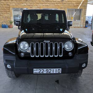 Black Jeep Wrangler 2016 for sale