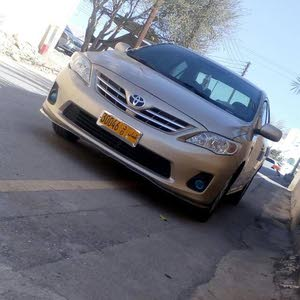 For sale 2011 Gold Corolla