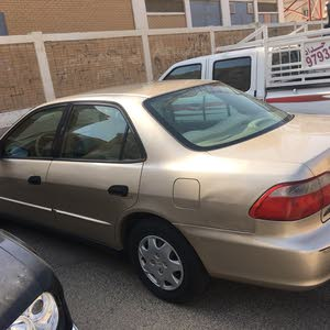 For sale 2002 Gold Accord