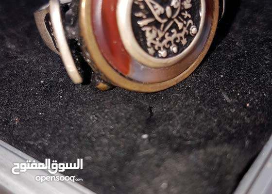 خواتم من العقيق اليمني والفضة الايطالية
