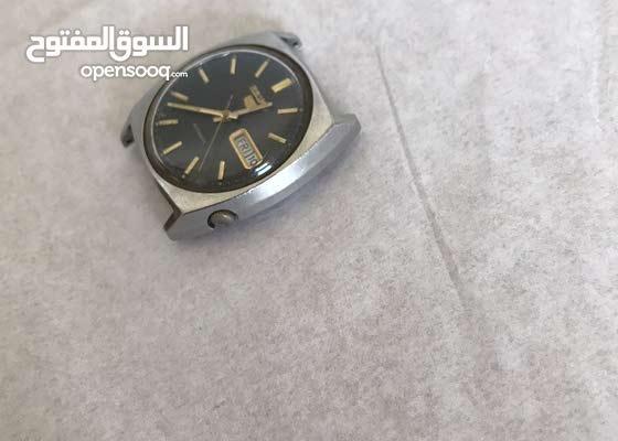 ساعة سيكو 5 رجالي اوتماتيك صنع 1963 ياباني . موديل 6319-606A -A5