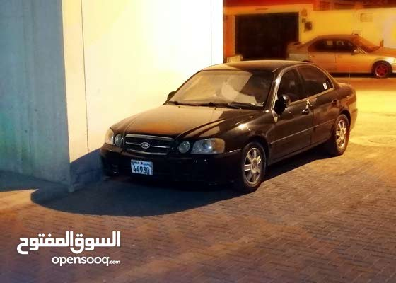 Kia Optima 2003 with special number