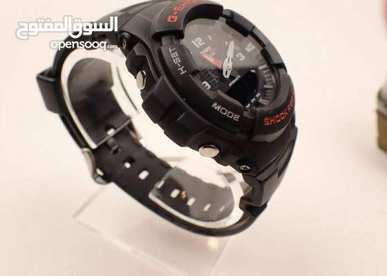 جي شوك اوريجنال G-Shock g100 تخفيض رقمية و عقارب