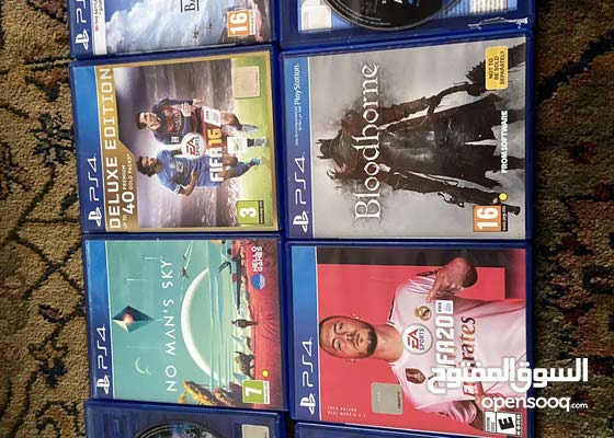 8 ps4 video games available