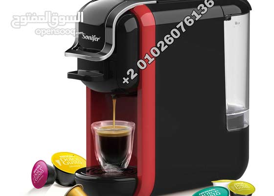 ماكينة صنع القهوه 3ب1 (نيسبريسو - قهوه -دولتشى جوستو)