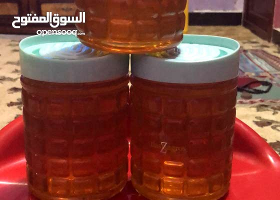 عسل طبيعي مع شهاده فحص مختبري