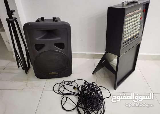 سماعة MAX مع وحدة النظام الصوتيSPA-8850