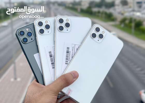 ايفون 11 برو ماكس  اصلي مستخدم ايام ذاكره 256جيبي مع ضمان 50  يووووووم