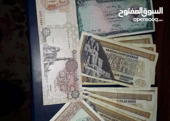 عملات ورقية مصرية