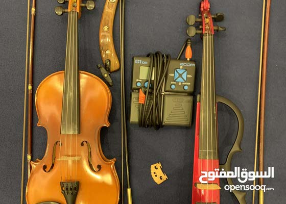 Violin + Electric Violin + (All My Violin Accessories) For Sale