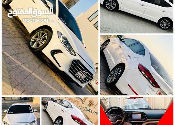 Hyundai Elantra 2018 full opation Bahraini car