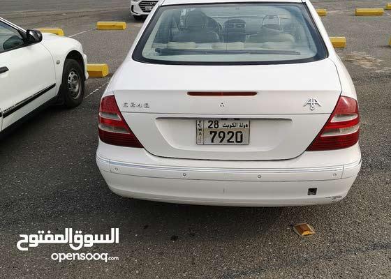 مرسيدس بنز E240 كامل الموصفات موديل 2003