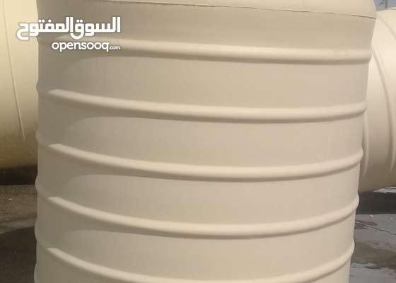 خزانات مياه من شركة المصنع الوطني للفيبر جلاس