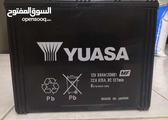 Yuasa (made in Japan) used battery