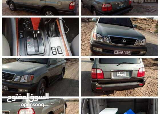 Lexus خليجي LX470 GCC Accident free