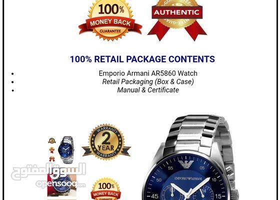ساعة يد رجالي من ماركة امبوريو ارماني اصليه 100%