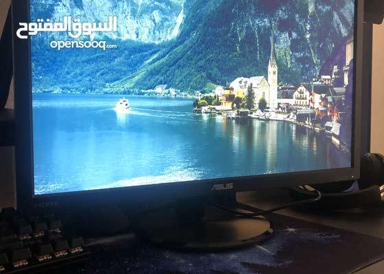 شاشة تلفزون 21 inch لل/سوني4 و5 و البيسي و اكس بوكس و الابتوب