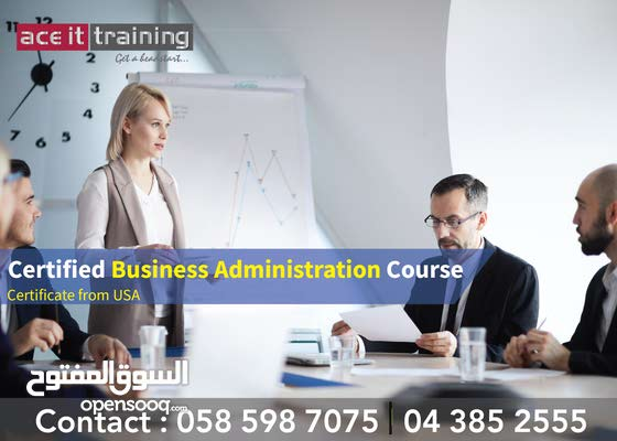 Certified Business Administration Course online