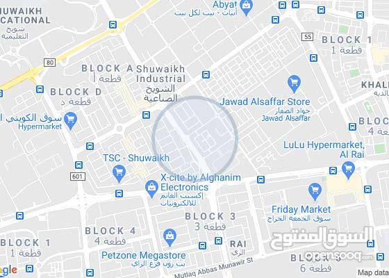 محل للايجار في شويخ قريبة من شارع الغزالي الموقع ممتاز جدا
