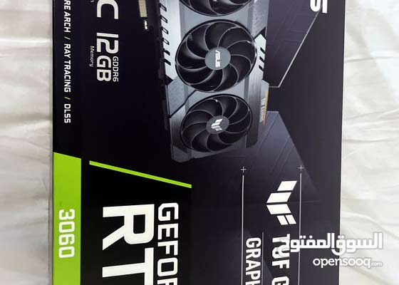 asus TUF gaming rtx 3060 OC endition graphics card