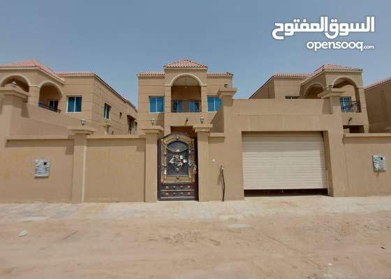 فيلا للايجار في اماره عجمان منطقه المويحات 3 جديده اول ساكن