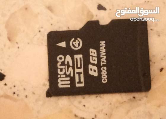 كارت ميموار SD 8GB للبيع السعر 500da