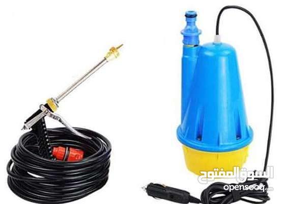 مضخة مياة لغسل السيارة والاستخدامات منزليه ومحول هدية