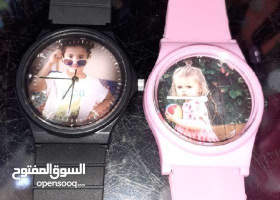 ساعات أطفال بالصورة الشخصية