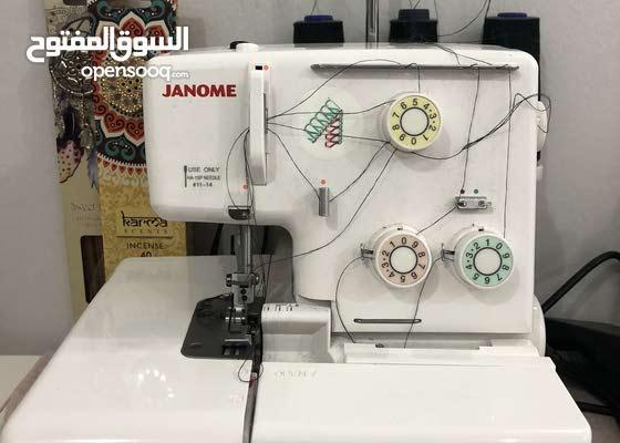 ماكينات خياطه استمعال خفيف تحت الكفالة للبيع 170