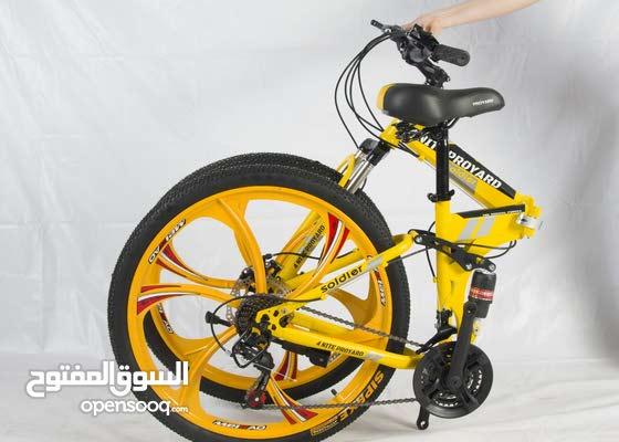دراجات رياضية  قابلة للطي(واتسب 0546355986)