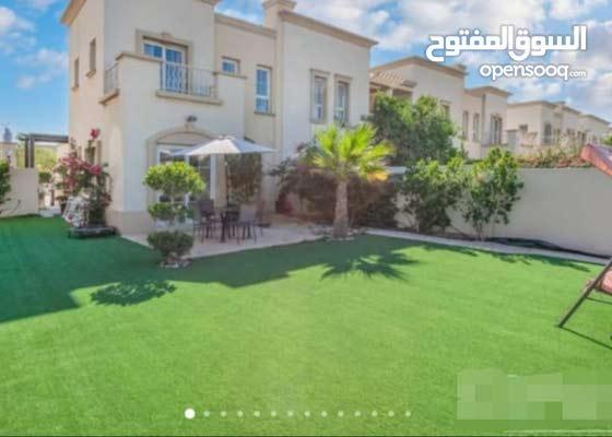 دبي الينابيع The Springs فيلا 3 غرف ماستر طابقين مفروشة سوبر لوكس - للبيع