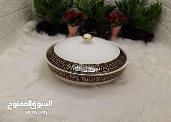قصعة فخار فرزاتشي أسود
