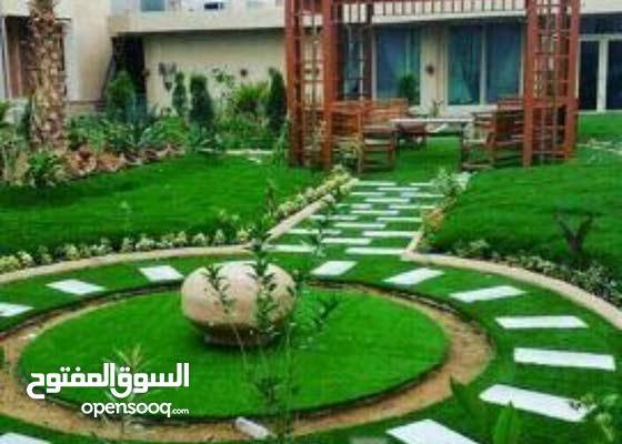 تصميم حدائق ومتنزهات واستراحات 2d ,3d