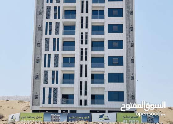 شقق راقية جدا للبيع في بوشر بإطلالة على عمان مول والمبنى خط أول