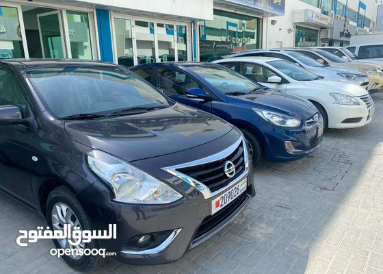 Nissan Sunny 2020 For rent cars